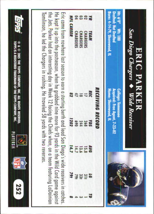 2005-Topps-First-Edition-Football-Card-Pick-1-301 thumbnail 422
