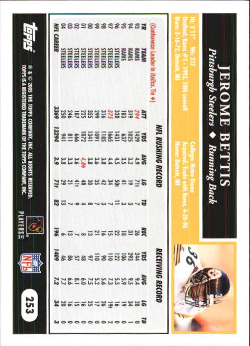 2005-Topps-First-Edition-Football-Card-Pick-1-301 thumbnail 424