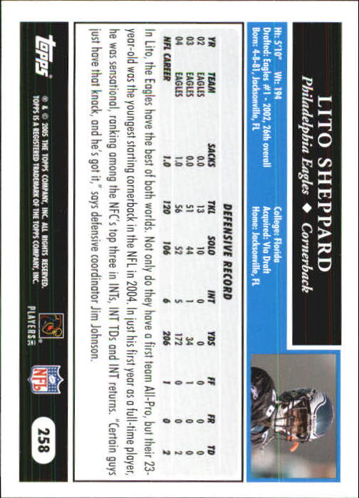 2005-Topps-First-Edition-Football-Card-Pick-1-301 thumbnail 434
