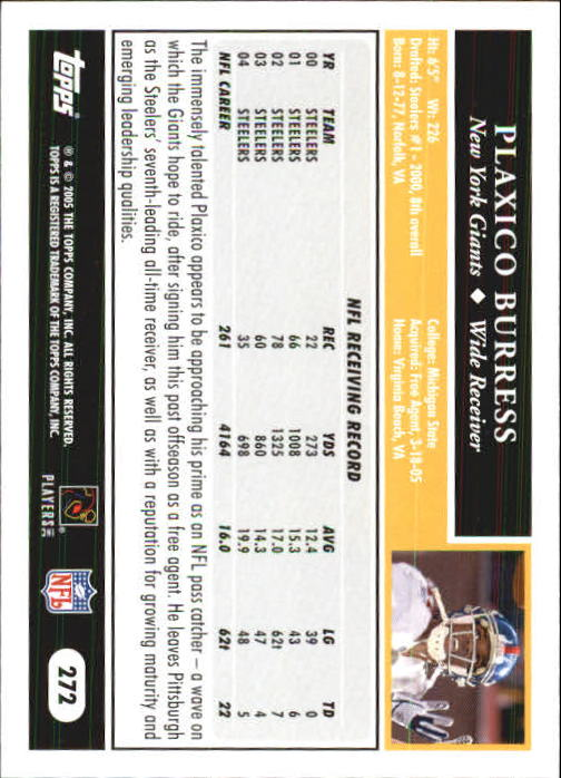 2005-Topps-First-Edition-Football-Card-Pick-1-301 thumbnail 458