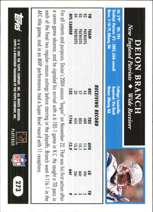 2005-Topps-First-Edition-Football-Card-Pick-1-301 thumbnail 460