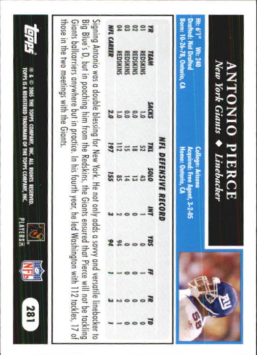 2005-Topps-First-Edition-Football-Card-Pick-1-301 thumbnail 468
