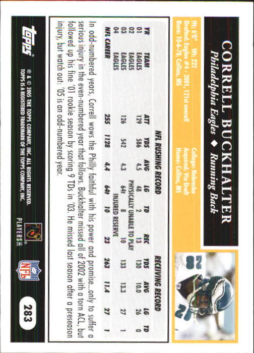 2005-Topps-First-Edition-Football-Card-Pick-1-301 thumbnail 470