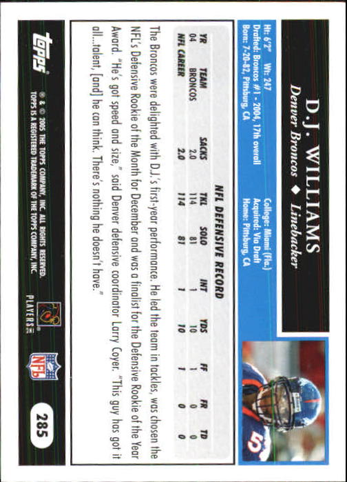 2005-Topps-First-Edition-Football-Card-Pick-1-301 thumbnail 472