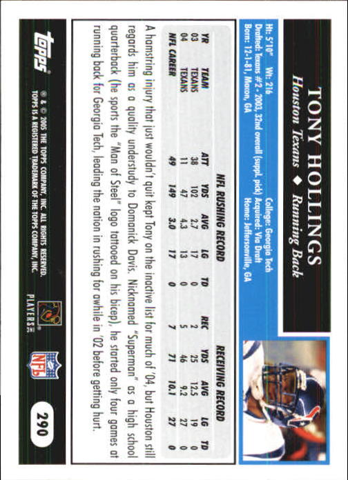 2005-Topps-First-Edition-Football-Card-Pick-1-301 thumbnail 482