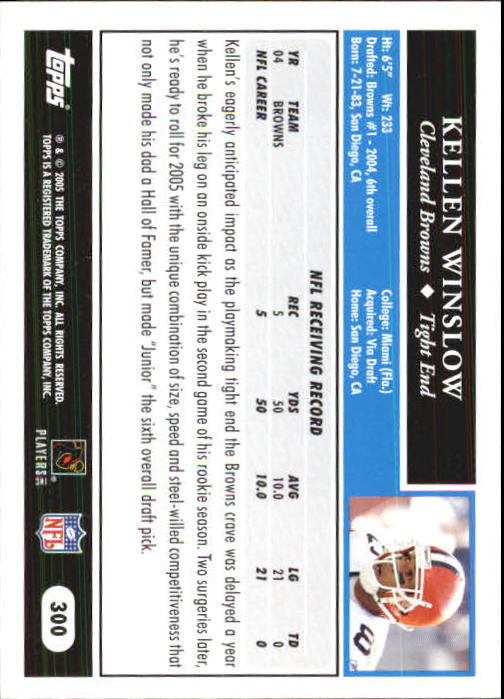 2005-Topps-First-Edition-Football-Card-Pick-1-301 thumbnail 498