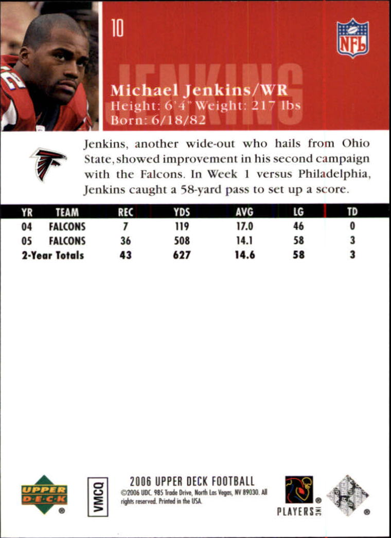 2006-Upper-Deck-Football-Card-s-1-200-A2099-You-Pick-10-FREE-SHIP thumbnail 19