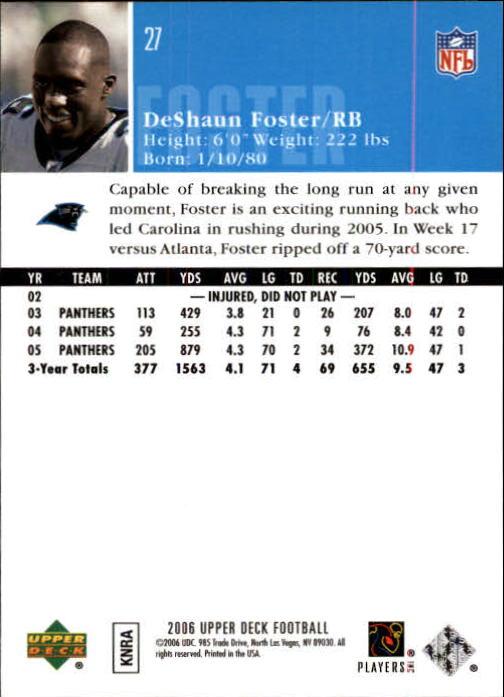 2006-Upper-Deck-Football-Card-s-1-200-A2099-You-Pick-10-FREE-SHIP thumbnail 51