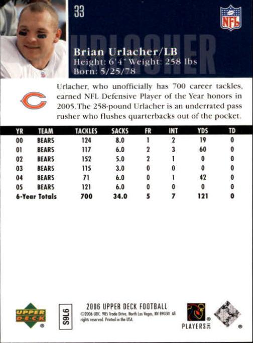 2006-Upper-Deck-Football-Card-s-1-200-A2099-You-Pick-10-FREE-SHIP thumbnail 63