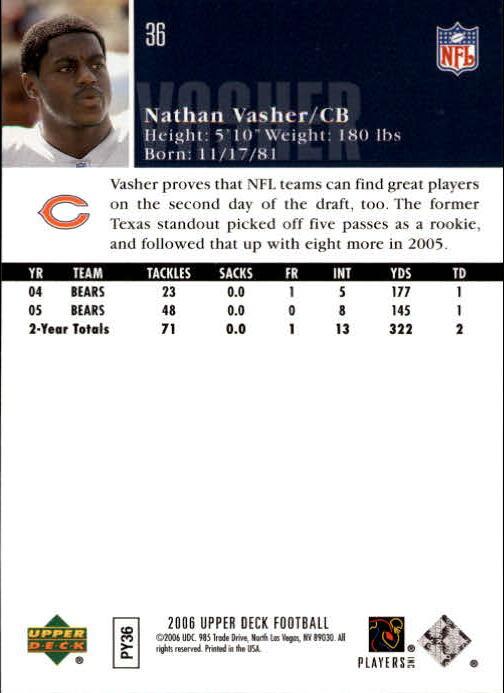 2006-Upper-Deck-Football-Card-s-1-200-A2099-You-Pick-10-FREE-SHIP thumbnail 69