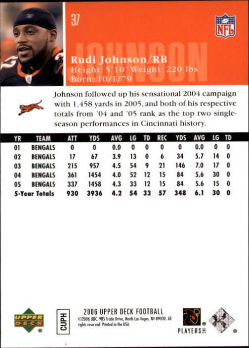 2006-Upper-Deck-Football-Card-s-1-200-A2099-You-Pick-10-FREE-SHIP thumbnail 71