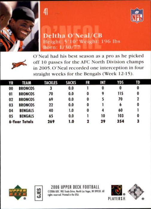 2006-Upper-Deck-Football-Card-s-1-200-A2099-You-Pick-10-FREE-SHIP thumbnail 79