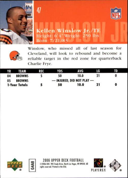 2006-Upper-Deck-Football-Card-s-1-200-A2099-You-Pick-10-FREE-SHIP thumbnail 91