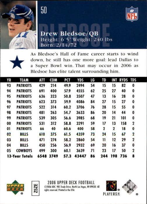 2006-Upper-Deck-Football-Card-s-1-200-A2099-You-Pick-10-FREE-SHIP thumbnail 97