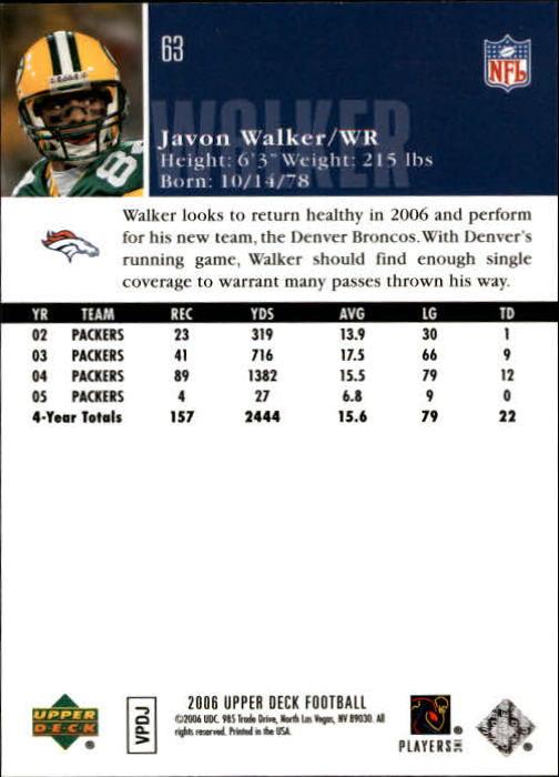 2006-Upper-Deck-Football-Card-s-1-200-A2099-You-Pick-10-FREE-SHIP thumbnail 121