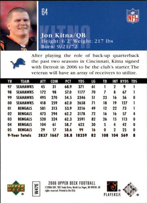 2006-Upper-Deck-Football-Card-s-1-200-A2099-You-Pick-10-FREE-SHIP thumbnail 123