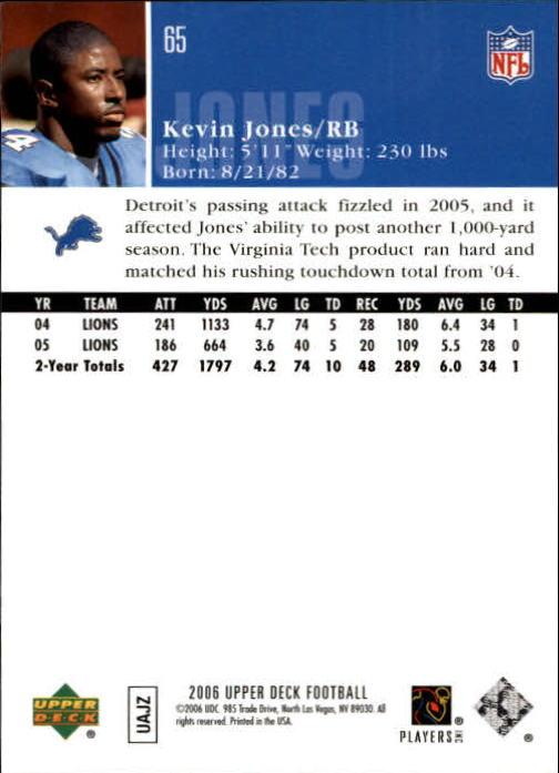 2006-Upper-Deck-Football-Card-s-1-200-A2099-You-Pick-10-FREE-SHIP thumbnail 125