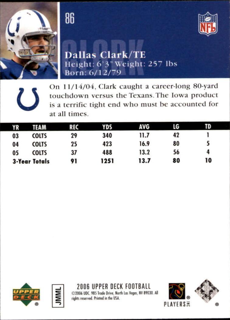 2006-Upper-Deck-Football-Card-s-1-200-A2099-You-Pick-10-FREE-SHIP thumbnail 167