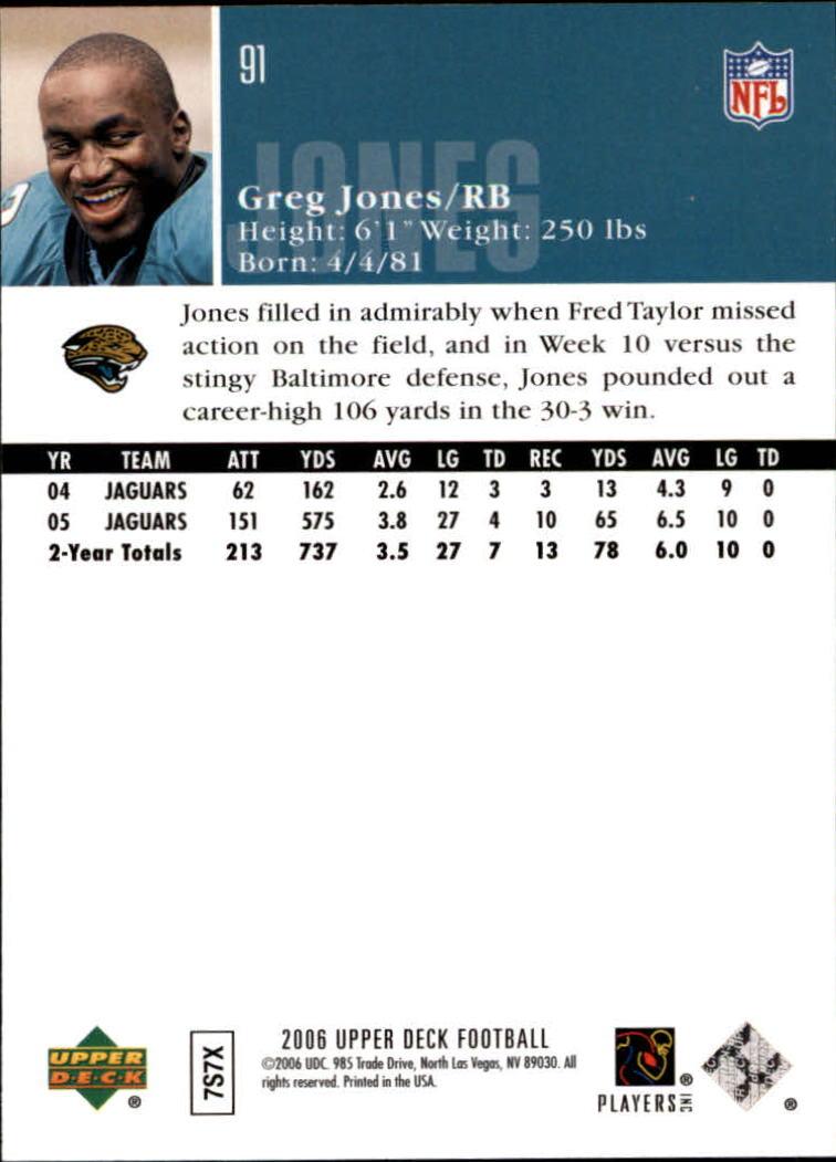 2006-Upper-Deck-Football-Card-s-1-200-A2099-You-Pick-10-FREE-SHIP thumbnail 175
