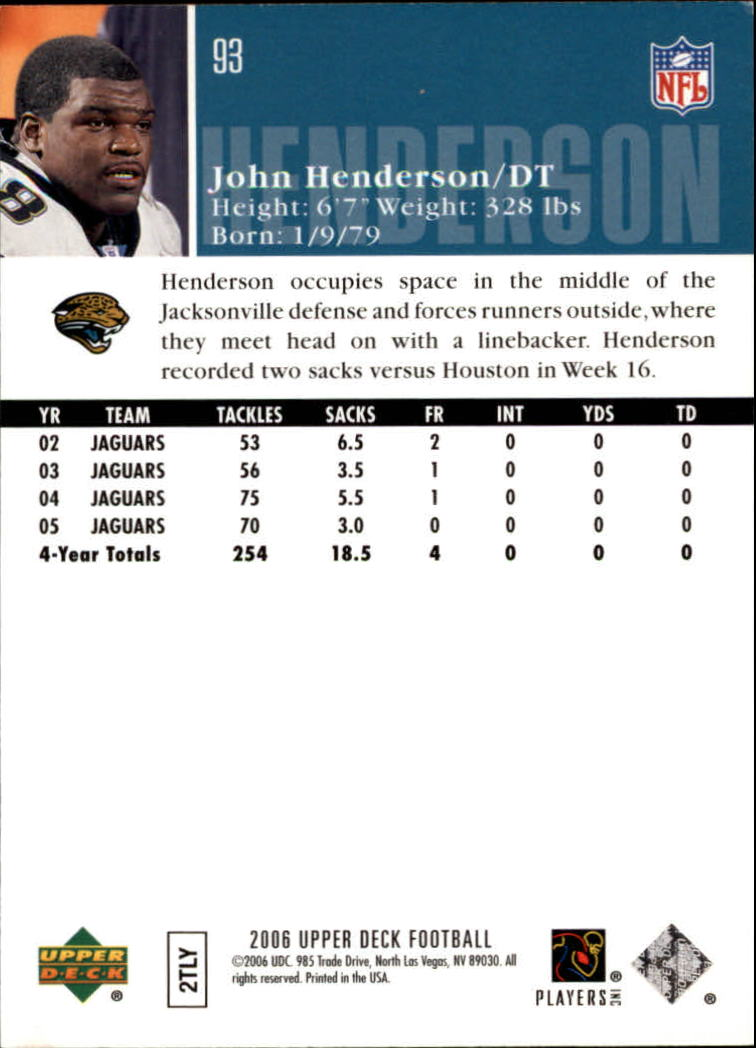 2006-Upper-Deck-Football-Card-s-1-200-A2099-You-Pick-10-FREE-SHIP thumbnail 179