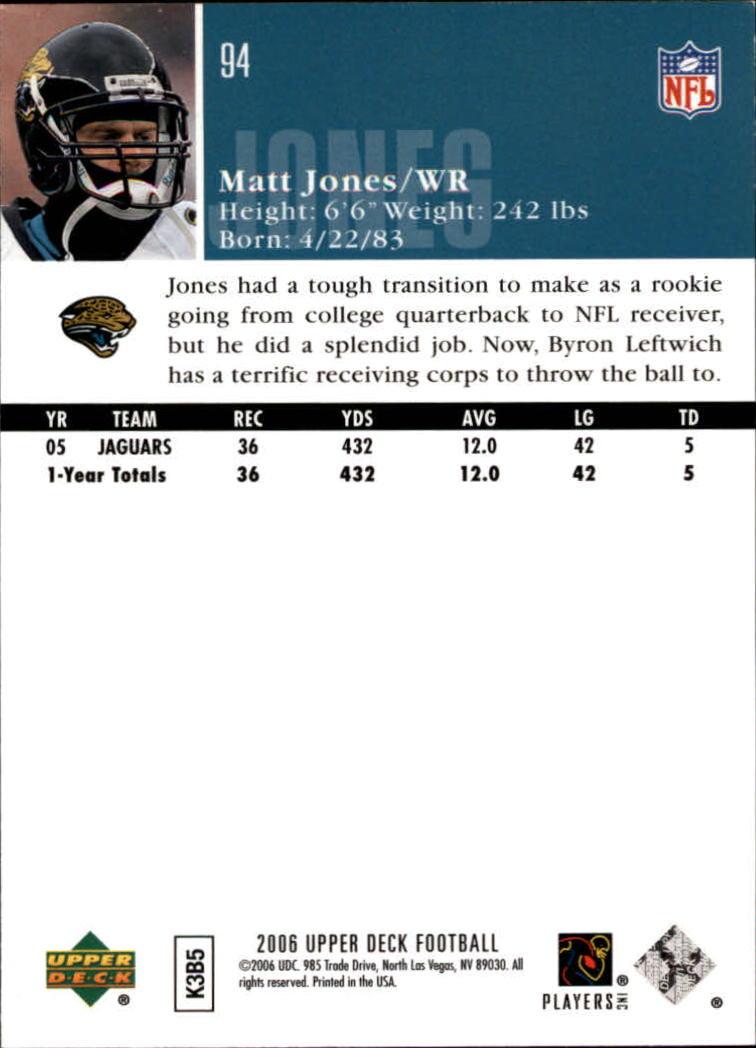 2006-Upper-Deck-Football-Card-s-1-200-A2099-You-Pick-10-FREE-SHIP thumbnail 181