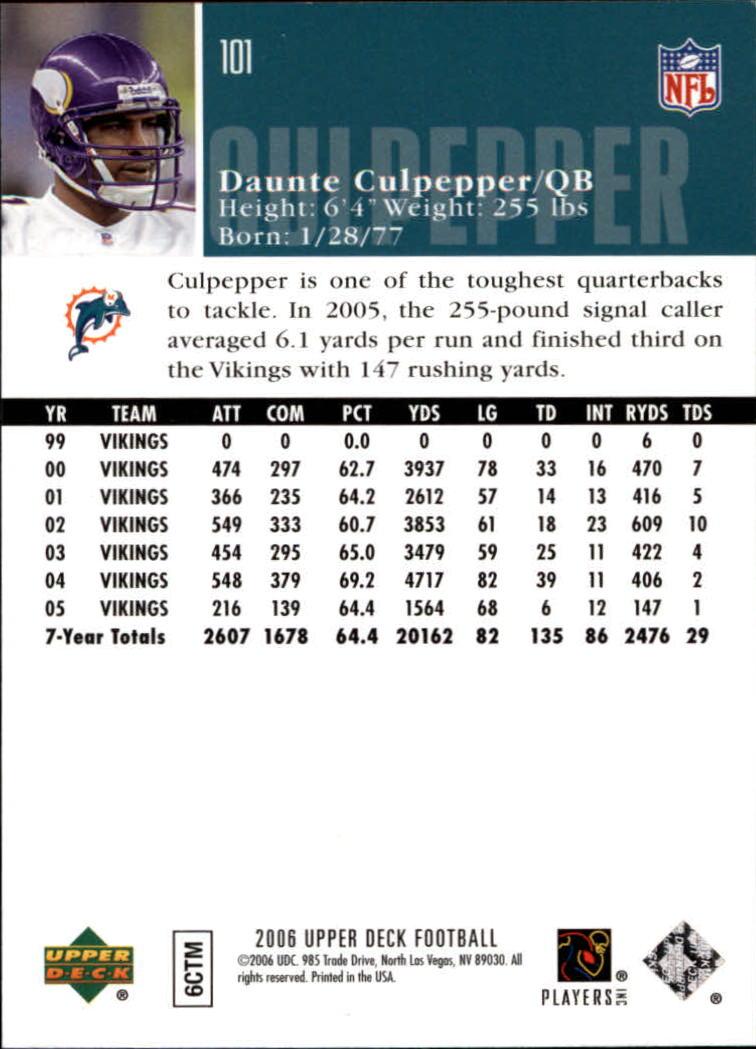 2006-Upper-Deck-Football-Card-s-1-200-A2099-You-Pick-10-FREE-SHIP thumbnail 195
