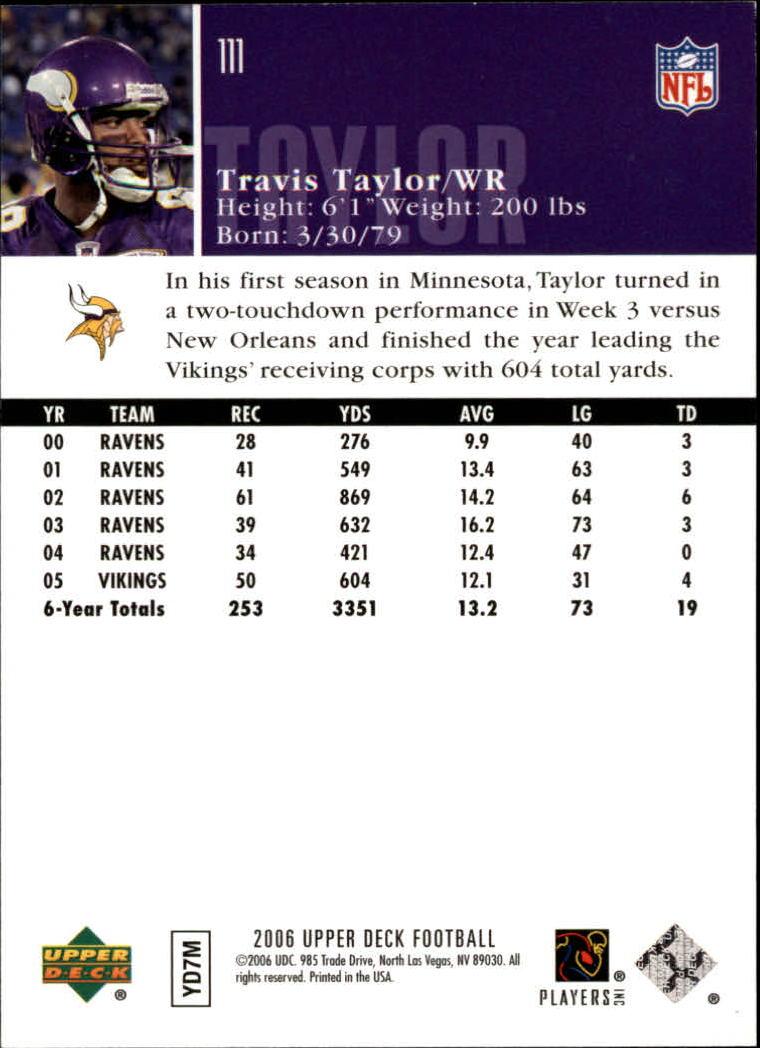 2006-Upper-Deck-Football-Card-s-1-200-A2099-You-Pick-10-FREE-SHIP thumbnail 215