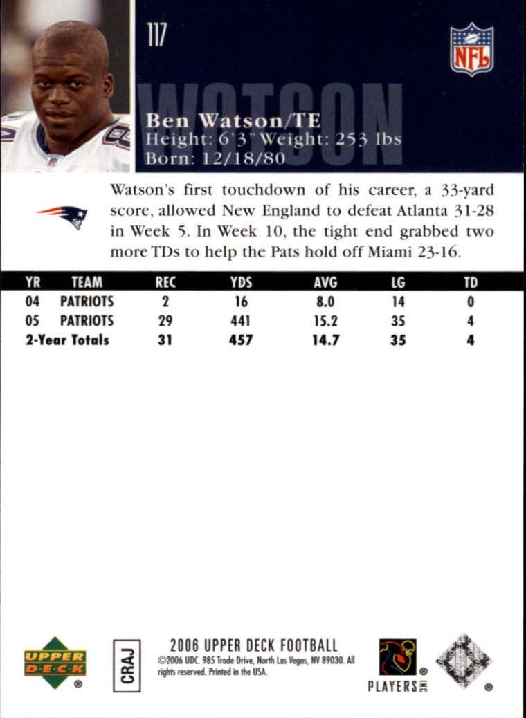 2006-Upper-Deck-Football-Card-s-1-200-A2099-You-Pick-10-FREE-SHIP thumbnail 227