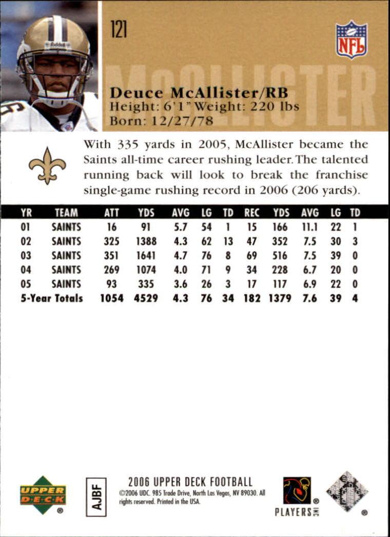 2006-Upper-Deck-Football-Card-s-1-200-A2099-You-Pick-10-FREE-SHIP thumbnail 233