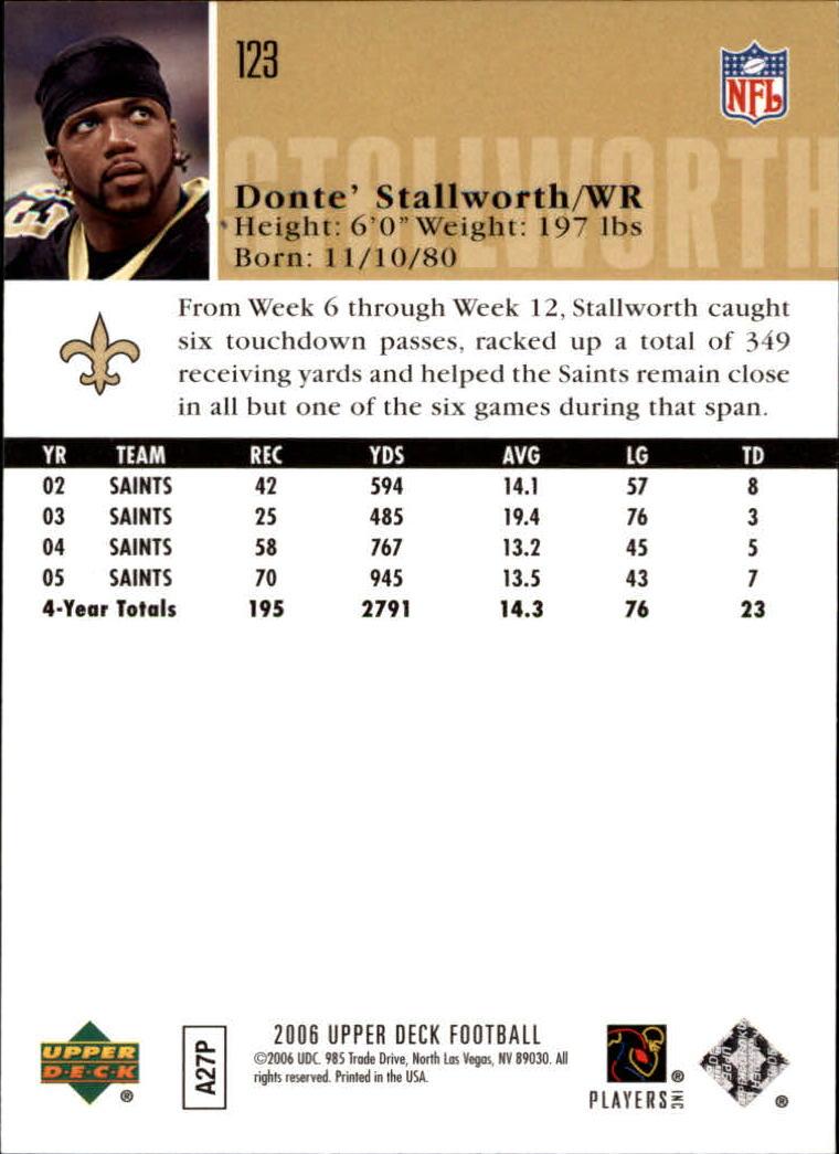 2006-Upper-Deck-Football-Card-s-1-200-A2099-You-Pick-10-FREE-SHIP thumbnail 237