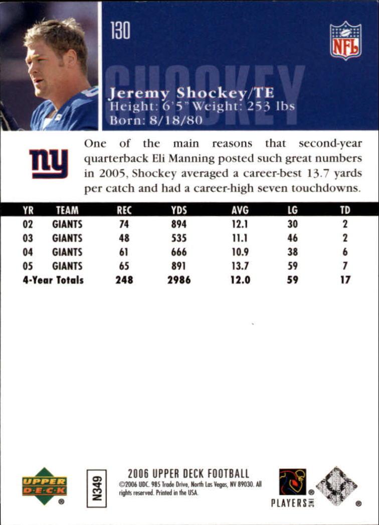 2006-Upper-Deck-Football-Card-s-1-200-A2099-You-Pick-10-FREE-SHIP thumbnail 251
