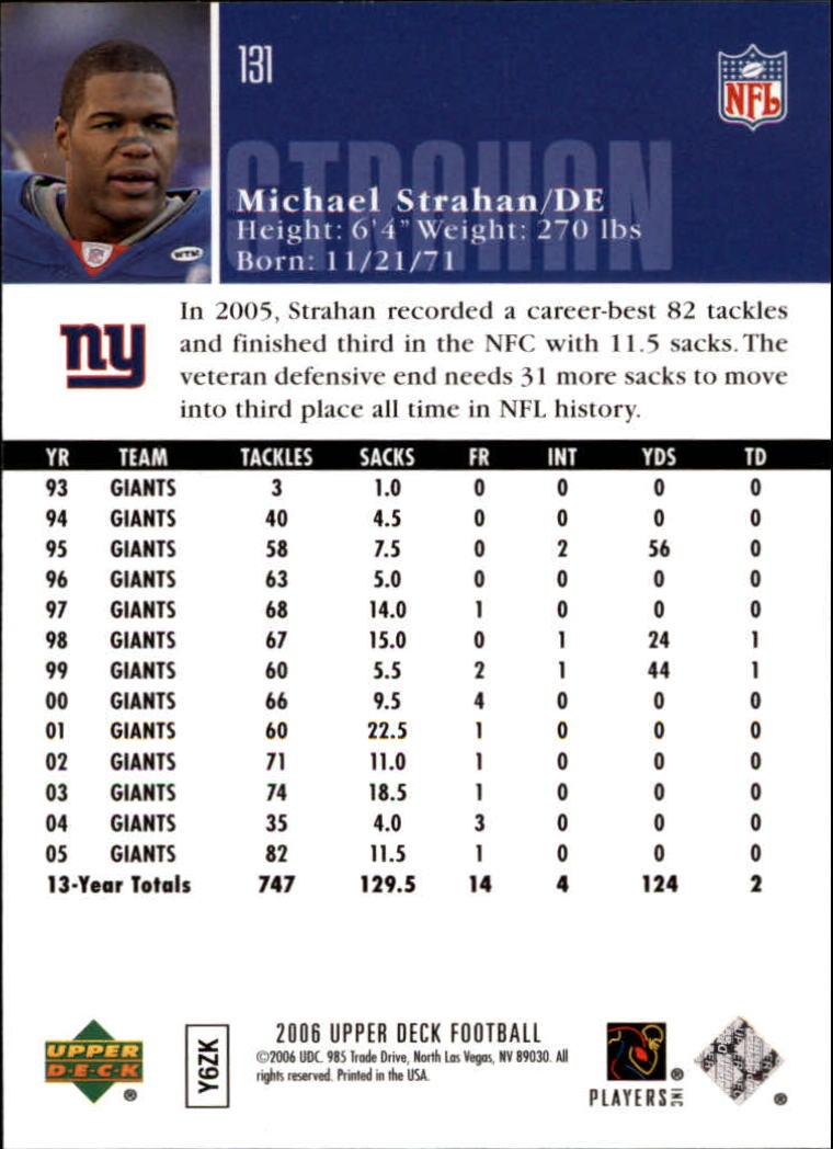 2006-Upper-Deck-Football-Card-s-1-200-A2099-You-Pick-10-FREE-SHIP thumbnail 253