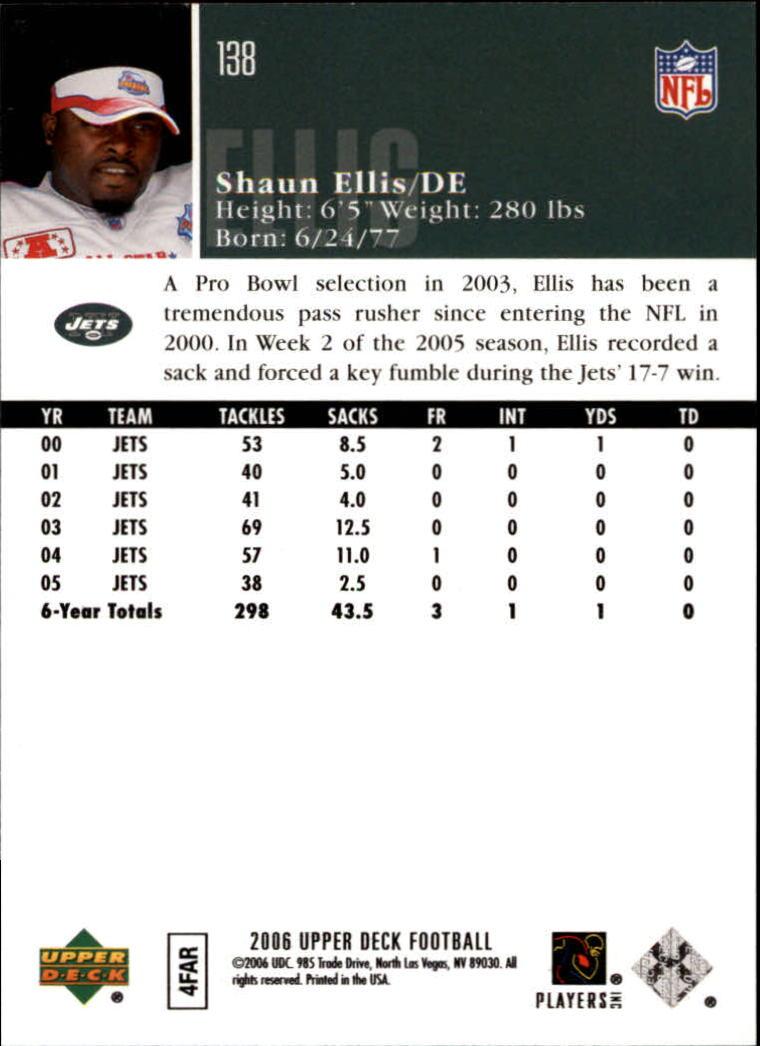 2006-Upper-Deck-Football-Card-s-1-200-A2099-You-Pick-10-FREE-SHIP thumbnail 267