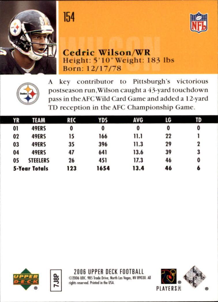2006-Upper-Deck-Football-Card-s-1-200-A2099-You-Pick-10-FREE-SHIP thumbnail 297