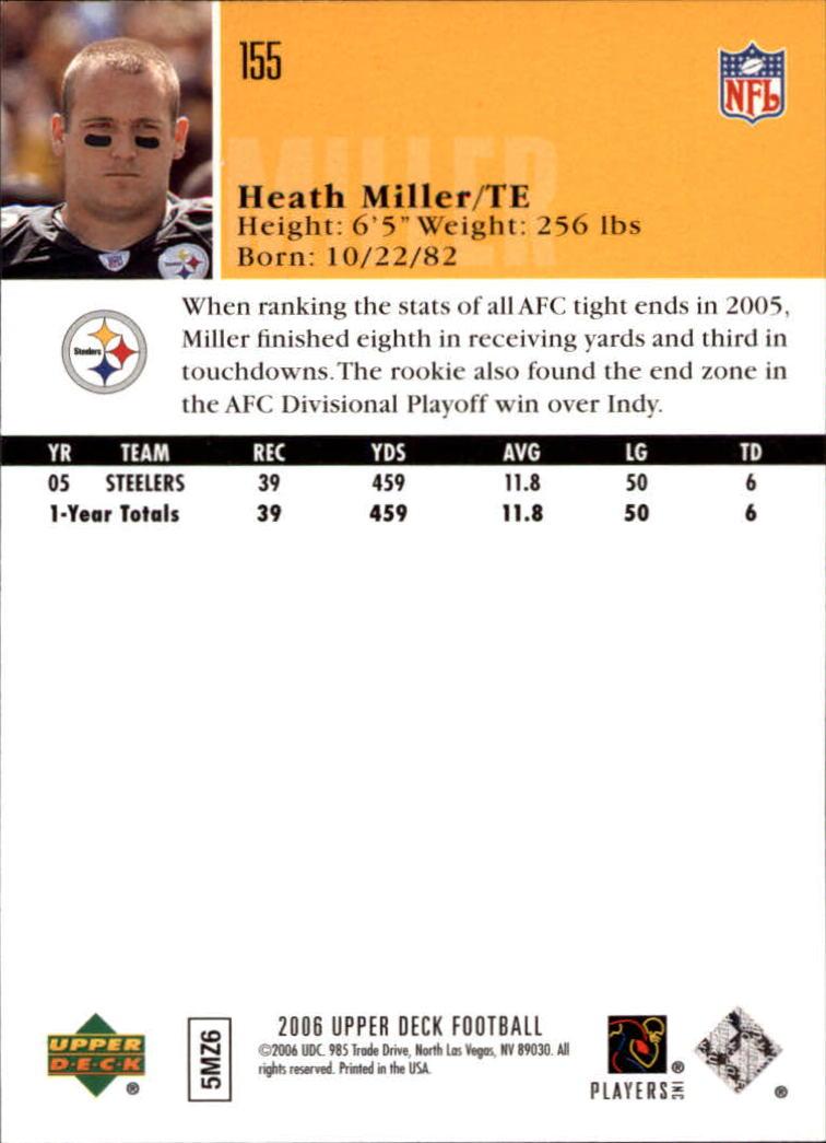 2006-Upper-Deck-Football-Card-s-1-200-A2099-You-Pick-10-FREE-SHIP thumbnail 299