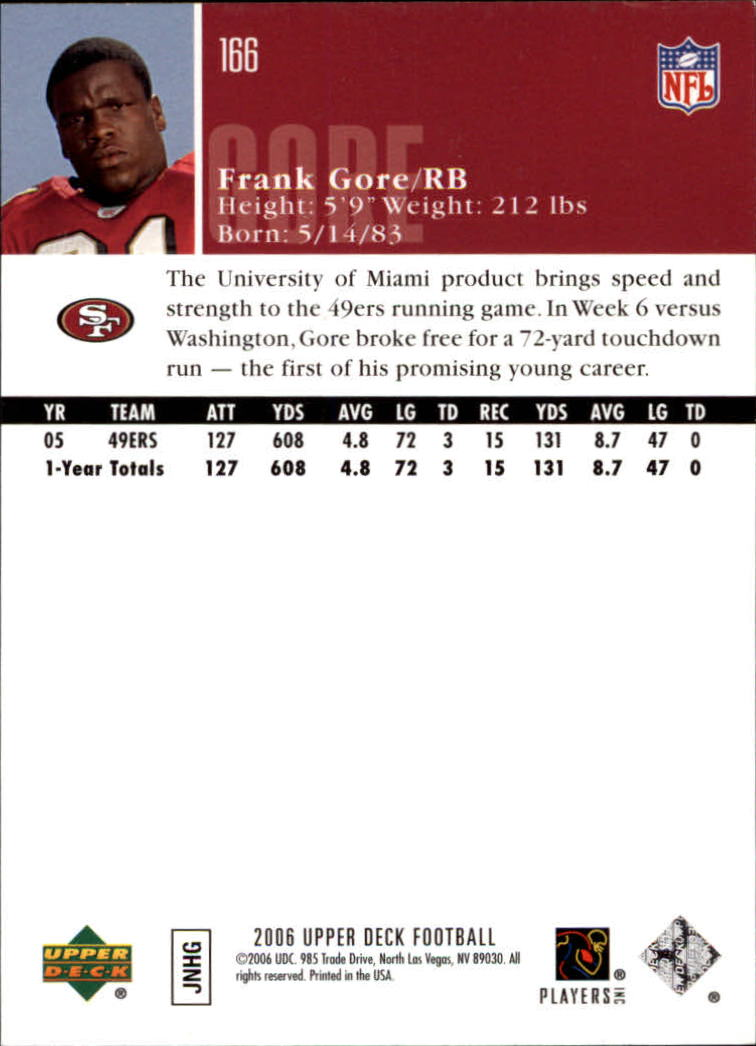2006-Upper-Deck-Football-Card-s-1-200-A2099-You-Pick-10-FREE-SHIP thumbnail 321