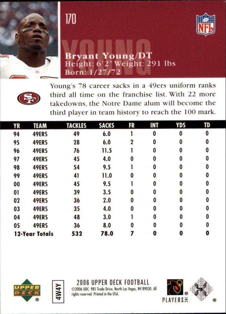 2006-Upper-Deck-Football-Card-s-1-200-A2099-You-Pick-10-FREE-SHIP thumbnail 329