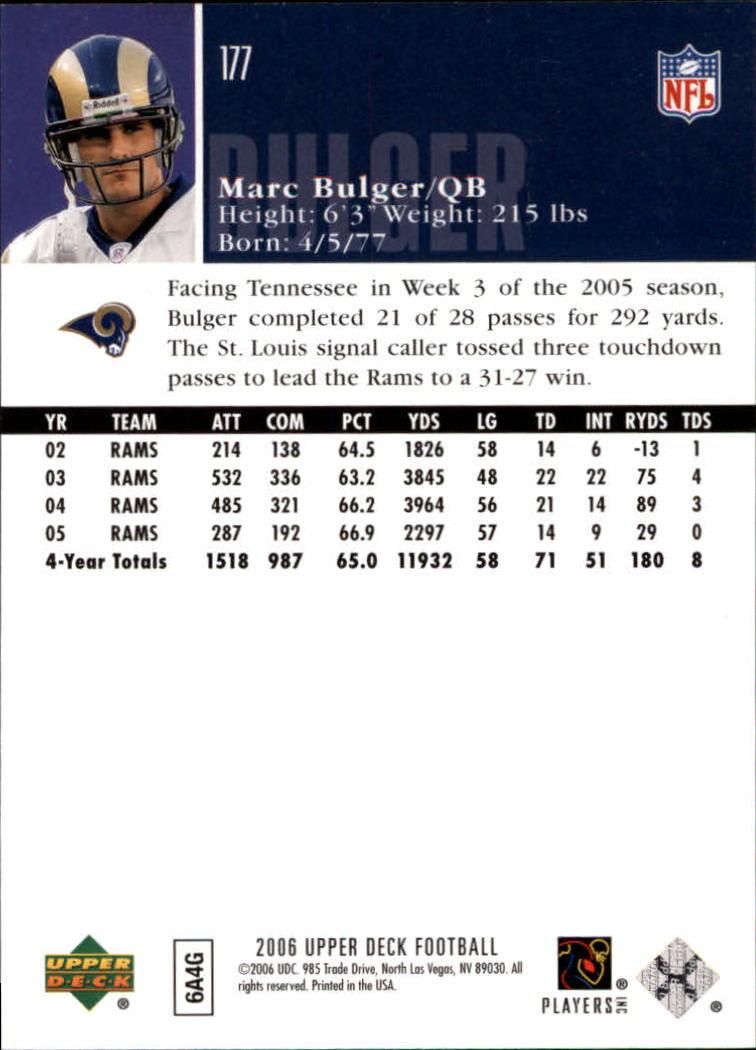 2006-Upper-Deck-Football-Card-s-1-200-A2099-You-Pick-10-FREE-SHIP thumbnail 343