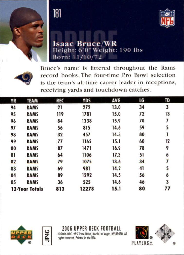 2006-Upper-Deck-Football-Card-s-1-200-A2099-You-Pick-10-FREE-SHIP thumbnail 351