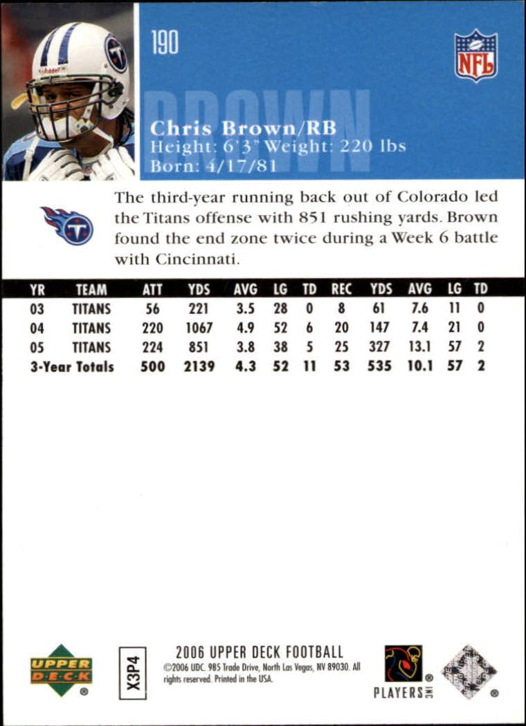 2006-Upper-Deck-Football-Card-s-1-200-A2099-You-Pick-10-FREE-SHIP thumbnail 369