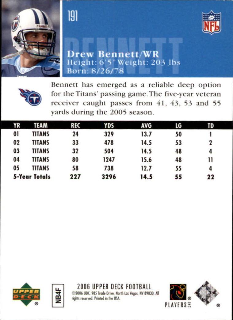 2006-Upper-Deck-Football-Card-s-1-200-A2099-You-Pick-10-FREE-SHIP thumbnail 371