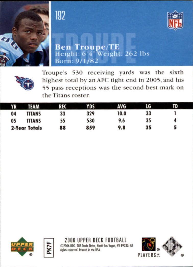 2006-Upper-Deck-Football-Card-s-1-200-A2099-You-Pick-10-FREE-SHIP thumbnail 373
