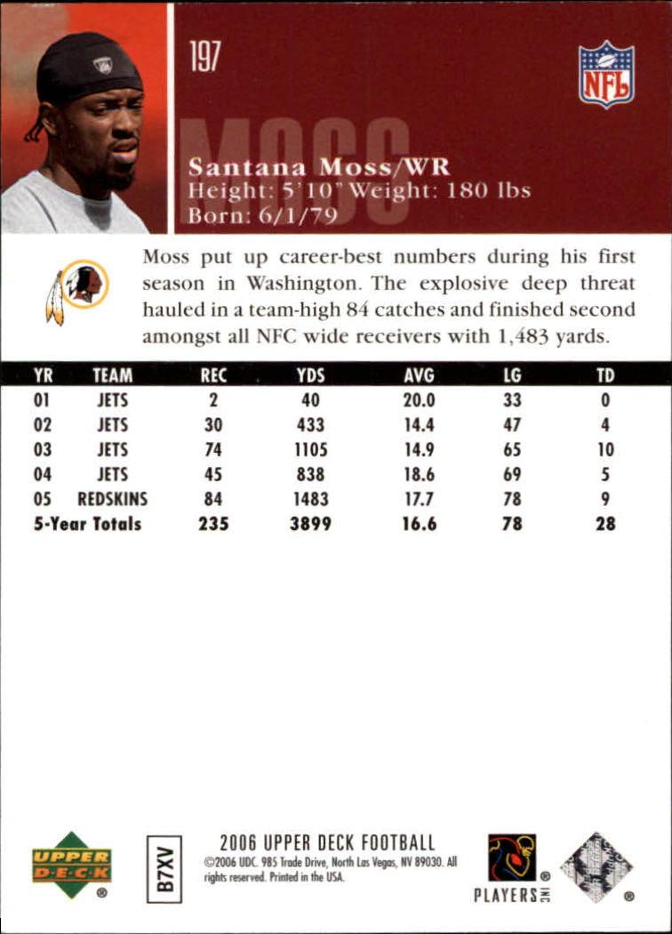 2006-Upper-Deck-Football-Card-s-1-200-A2099-You-Pick-10-FREE-SHIP thumbnail 383