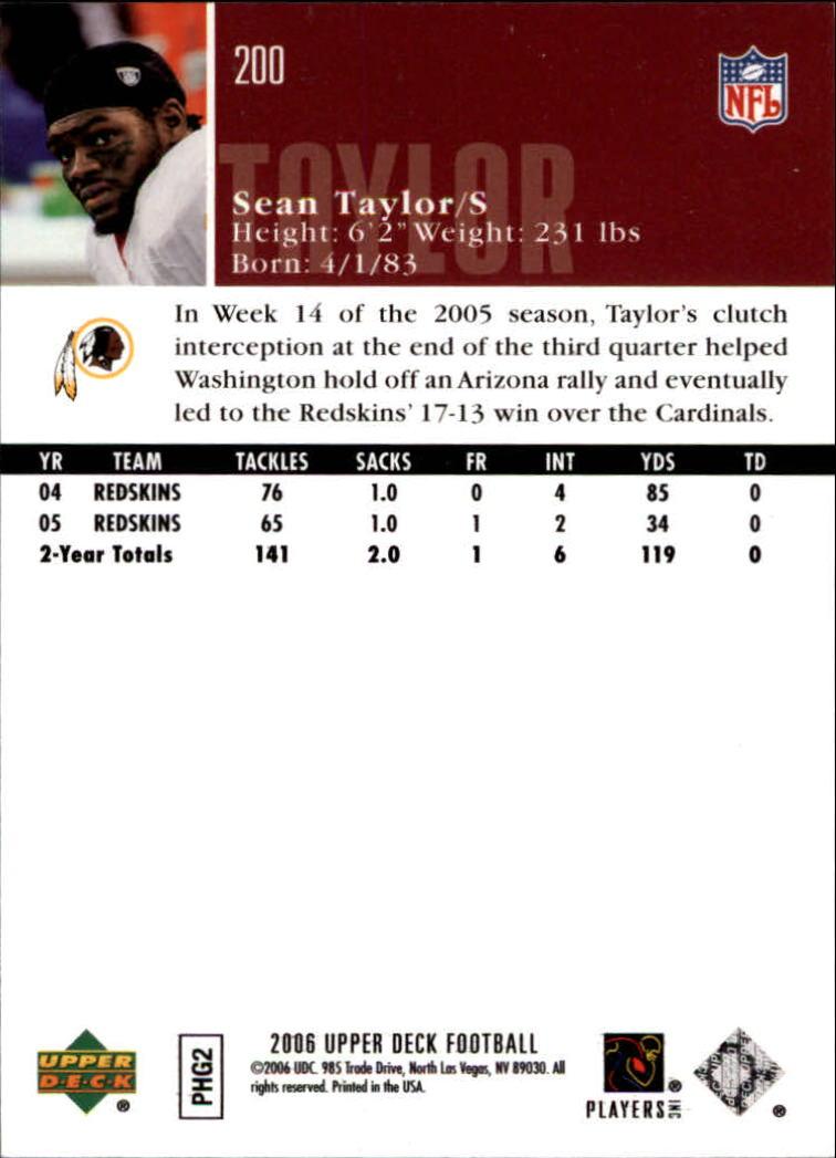 2006-Upper-Deck-Football-Card-s-1-200-A2099-You-Pick-10-FREE-SHIP thumbnail 389