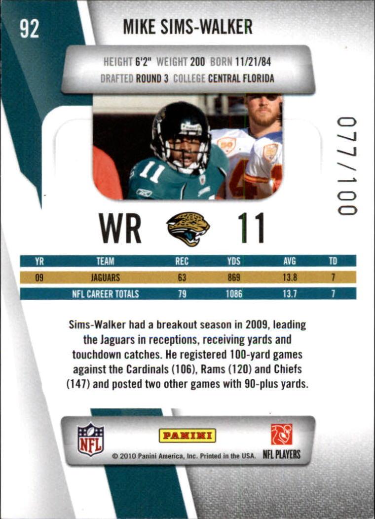 2010-Prestige-Xtra-Points-Red-Football-Card-Pick thumbnail 9