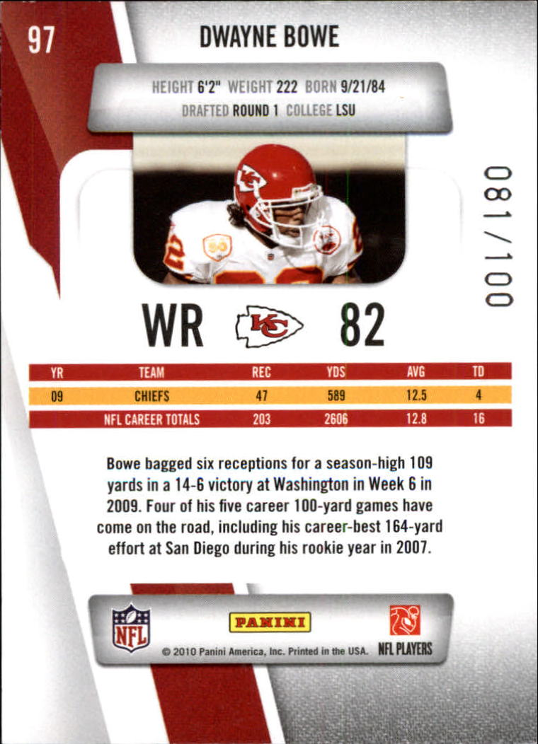 2010-Prestige-Xtra-Points-Red-Football-Card-Pick thumbnail 11