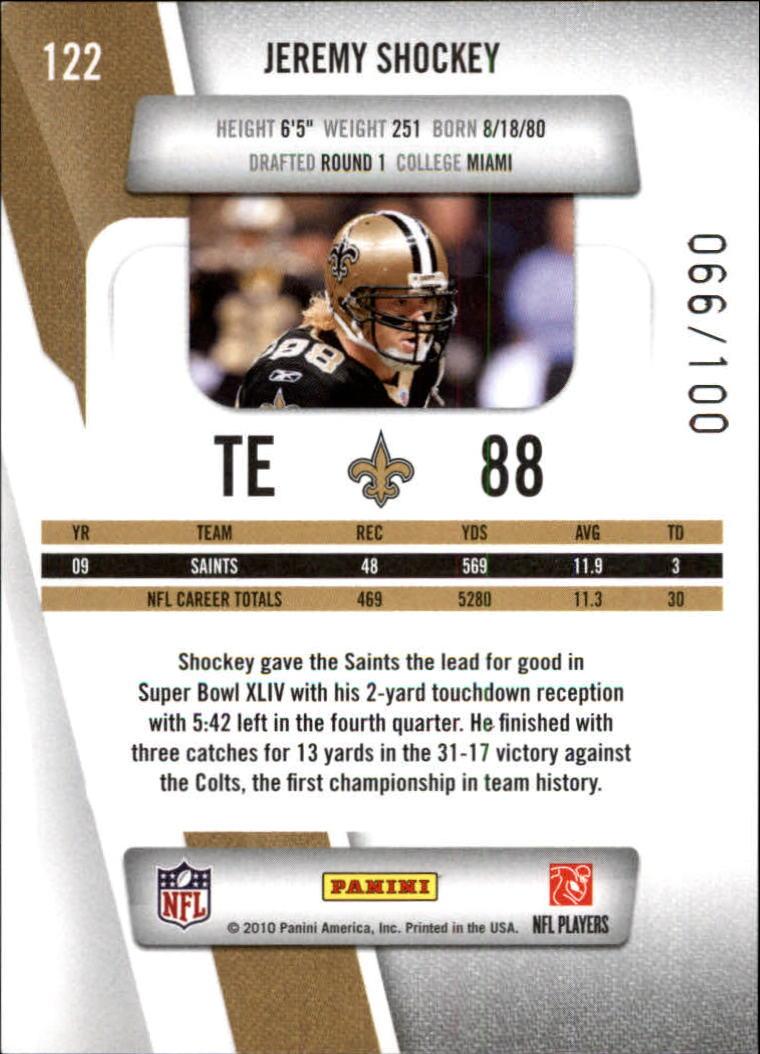 2010-Prestige-Xtra-Points-Red-Football-Card-Pick thumbnail 19