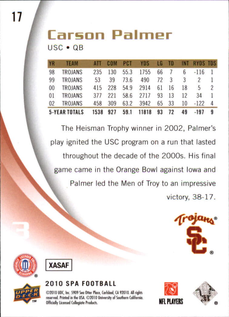 2010-SP-Authentic-Football-Card-s-1-100-A1730-You-Pick-10-FREE-SHIP thumbnail 35