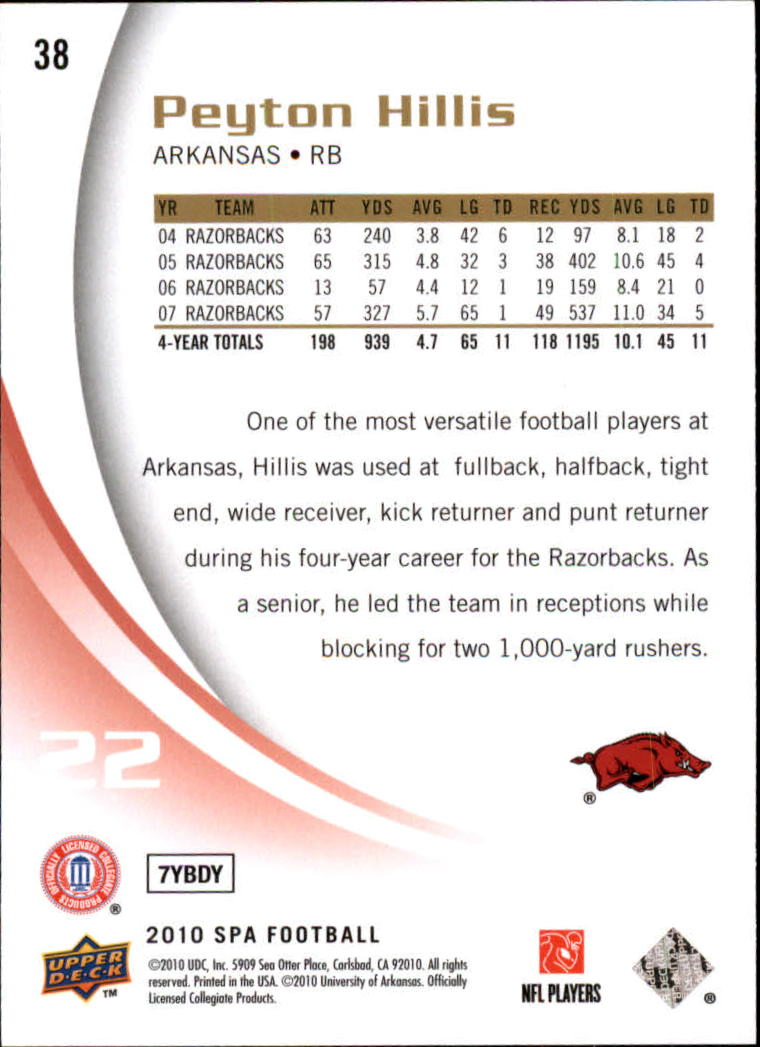 2010-SP-Authentic-Football-Card-s-1-100-A1730-You-Pick-10-FREE-SHIP thumbnail 77