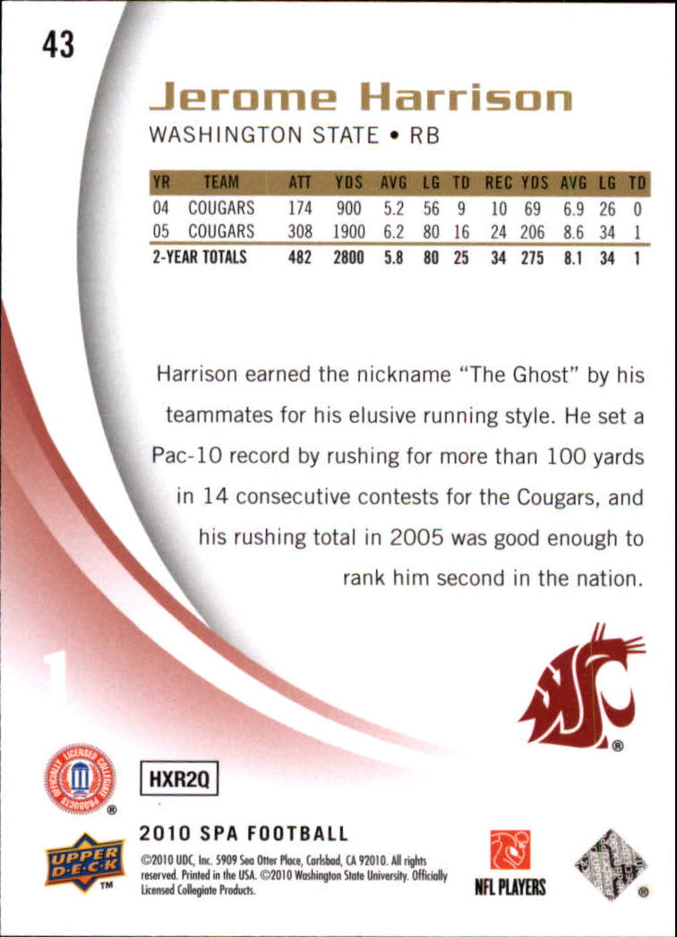 2010-SP-Authentic-Football-Card-s-1-100-A1730-You-Pick-10-FREE-SHIP thumbnail 87